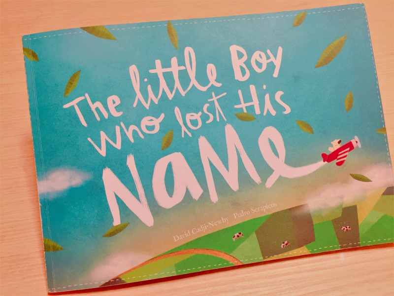 The Little Boy Who Lost His Name 表紙